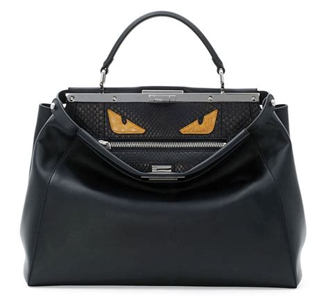 Tas New Fendi Peekaboo Eye 10106 17 Scary Bags For Purseblog
