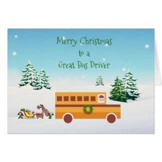 printable christmas card bus driver school bus driver christmas gifts on zazzle