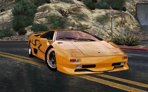 Lamborghini Diablo Sv by Lamborghini Diablo Sv 1997 Add On Replace Template