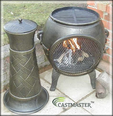 Chiminea Masters by Castmaster Heavy Weight Cast Iron Chiminea Chimenea