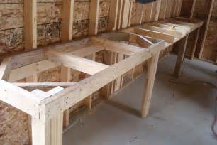 garage workbench designs bench design garage workbench with drawers plans