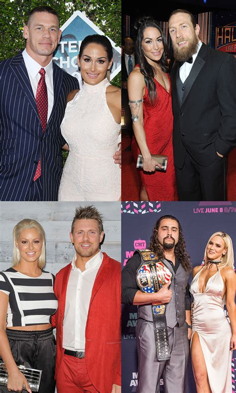 love from star couple become rivals outside the show pics wwe couples pro wrestlers who are in love outside
