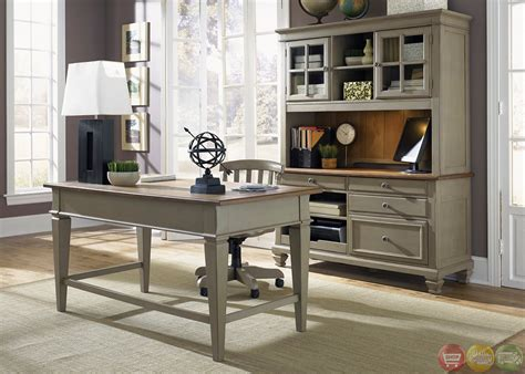 Bungalow Executive Home Office Furniture Desk Set Home Executive Office Furniture