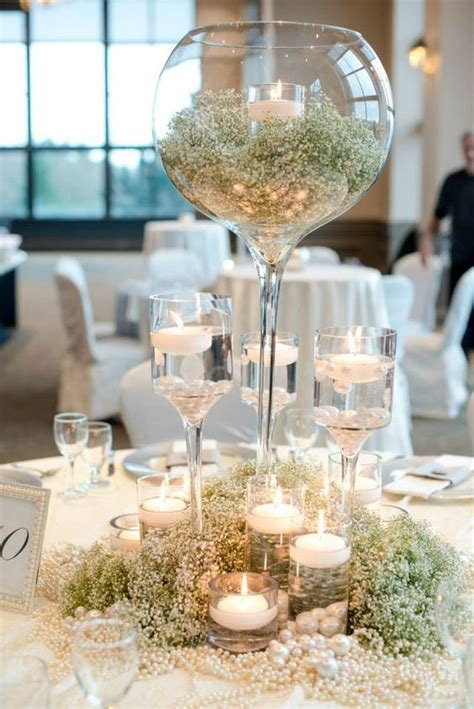 wine glass centerpiece for tables best 25 wine glass centerpieces ideas on next