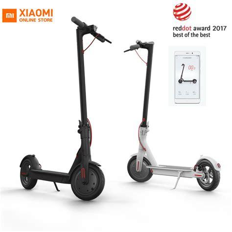 aliexpress buy original xiaomi mijia m365 smart electric scooter foldable mi lightweight