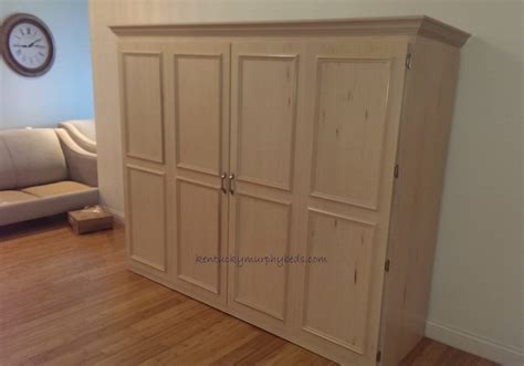queen size murphy beds living and guest rooms kentucky murphy beds