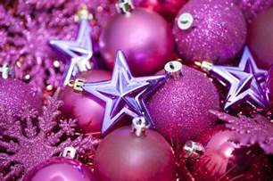 weihnachtsbaum pink photo of pink glittery and baubles free