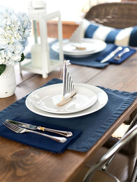 setting ideas nautical table setting it all started with paint