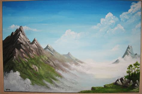 acrylic painting mountains acrylic paintings of mountains www imgkid the