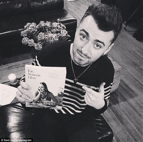 Tshirt Sam Smith 03 sam smith thanks lifestyle book for helping him lose 14lbs