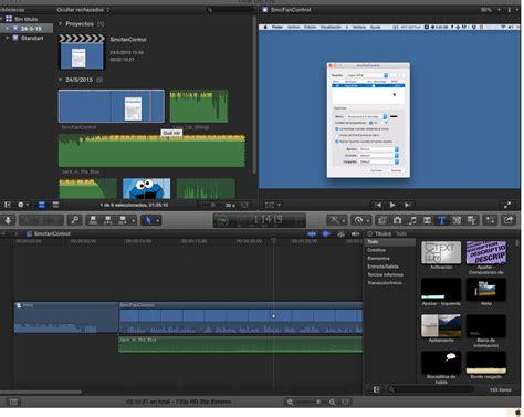 final cut pro dmg programas para mac descargar final cut pro 10 1 3