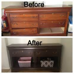 Repurposed Kitchen Island Ideas Diy Repurposed Dresser For The Home Pinterest