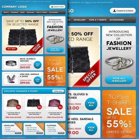 E Commerce Special Offer Email Template Design By R Genesis Graphicriver Envato Email Templates