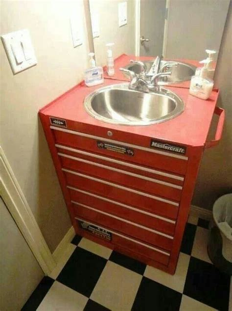 cave bathroom sink tool box bathroom sink bathrooms home