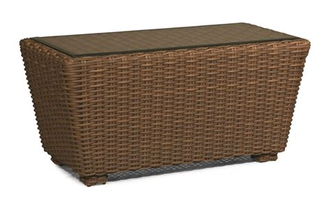 Outdoor Wicker Coffee Table Monaco Outdoor Wicker Coffee Table