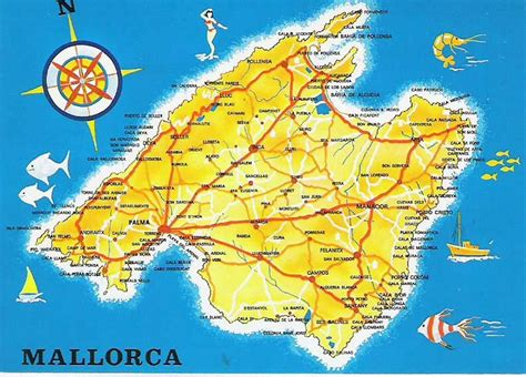 0004488962 carte touristique ibiza and infos sur carte de majorque baleares arts et voyages