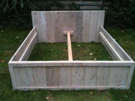 steigerhout bed 2 persoons bouwtekening steigerhout bed 2 persoons qe97 belbin info