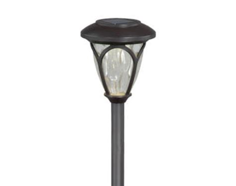 Patriot Lighting 174 Luna Solar Path Light At Menards 174 Menards Solar Lights
