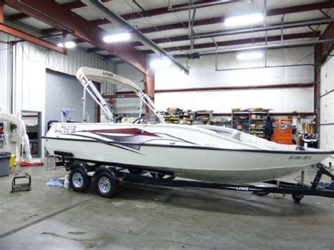 lowe deck boats for sale used lowe deck boats new and used boats for sale
