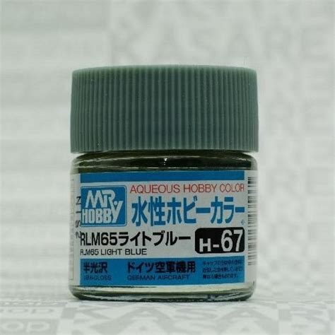 Mr Color Acrylic H 5 Blue Gundam Model Kitt Paint gsi h67 mr hobby rlm 65 light blue semi gloss 10ml