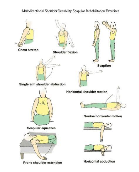 Detox Frozen Shoulder by Best 25 Shoulder Rehab Exercises Ideas On