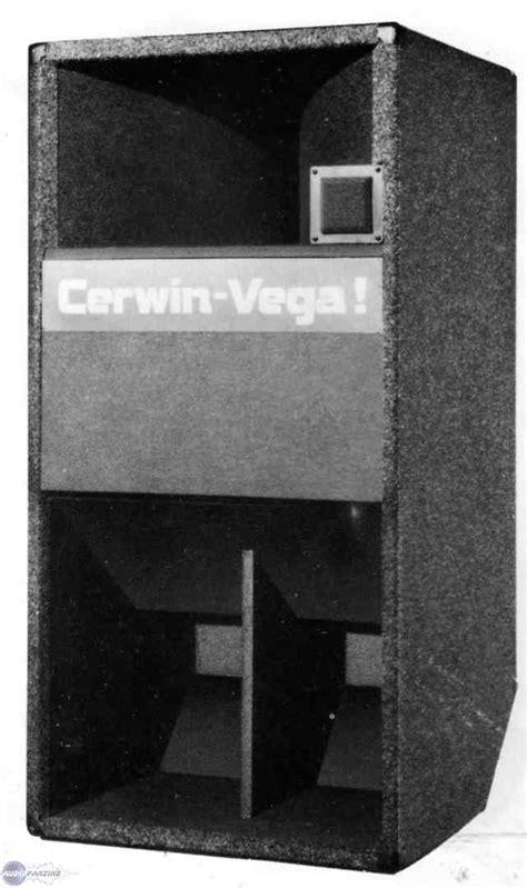 Home Audio Speaker Cabinets V 43 Cerwin Vega V 43 Audiofanzine