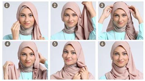 tutorial cara dandan 6 tutorial jilbab pashmina yang bisa kamu coba biar gaya