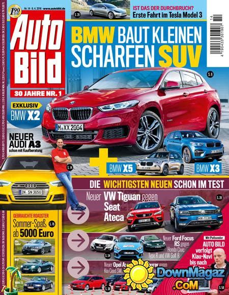 Auto Bild 8 2016 auto bild 8 04 2016 187 download pdf magazines deutsch