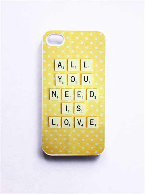 scrabble ye iphone vintage scrabble all you need is white