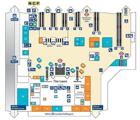paddington station floor plan plan of london paddington flickr photo sharing