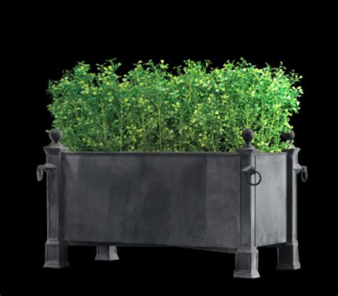 Faux Planter by Artificial Boxwood Hedge Topiary Silk Boxwood Hedge