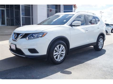 nissan white rogue 2014 moonlight white nissan rogue the eagle suv