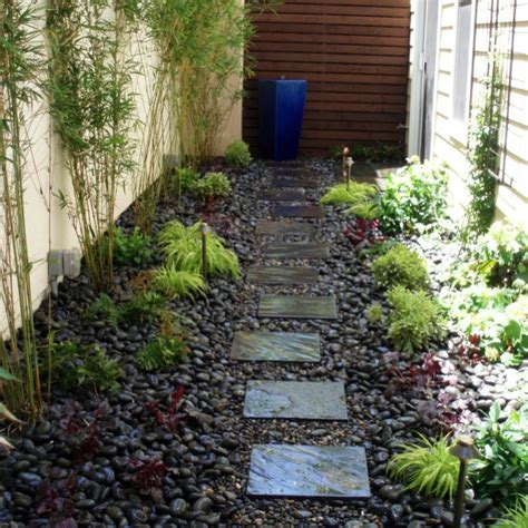 narrow garden ideas my house dreams