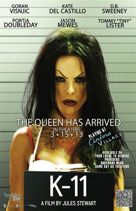 Póster y avance de K-11 muestran a Kate del Castillo como ... K 11 Poster