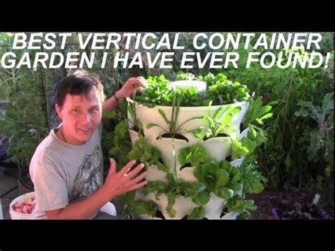 grow  plants   sq ft   garden tower vertical