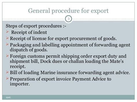 Export Import Procedures And Documentation Mba Notes by Export And Import Policies As Per India U S Eu Japan