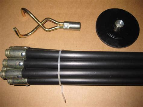 Plumbing Rod by 12pc Drain Rod Set Unblocker 9m Drains Rods Sewage