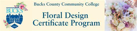 Floral Design Certificate Edmonton | floral design certificate bucks county community college