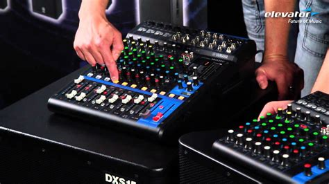 Mixer Yamaha Mg12xu elevator vlog folge 60 yamaha mg mixer mg06x mg10