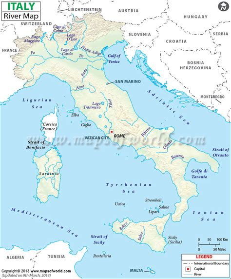 po river map rivers in italy map italy rivers map
