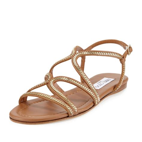 www sandals shop flat chain sandals from summer 2016 spotted