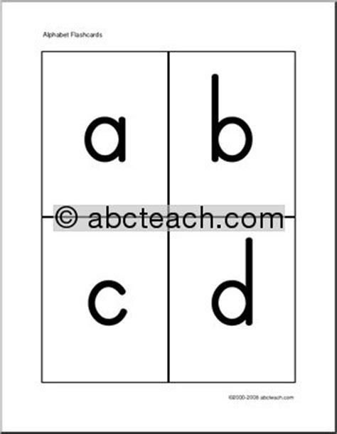 printable upper and lowercase letter flashcards free printable lower case letters flashcards free