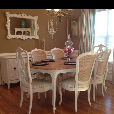 gorgeous french provincial dining set bits everything