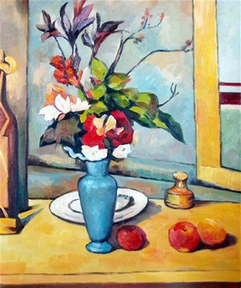 Paul Cezanne The Blue Vase by Quot The Blue Vase Quot By Paul Cezanne Painting Reproductions