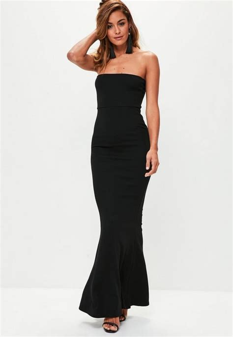black crepe sleeveless maxi dress missguided
