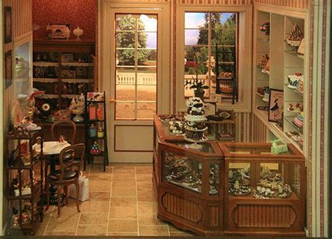 doll house shops make miniature plants and flowers for dolls house and