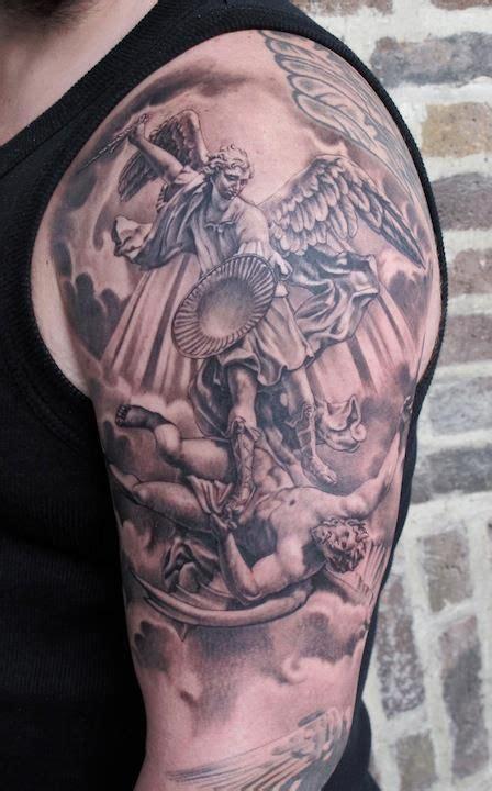religious shoulder tattoos for men 38 best religious shoulder tattoos for images on