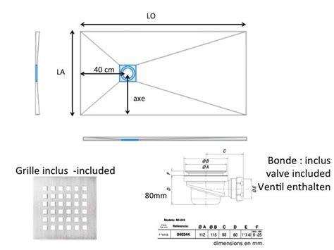 dimension receveur receveurs de longueur 120 receveur de en r 233 sine sur mesure 120 cm petit taille