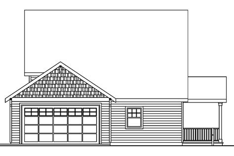 house plans for sloping lots in the rear bungalow house plans fillmore 30 589 associated designs