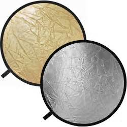 reflector lights impact collapsible circular reflector disc gold silver